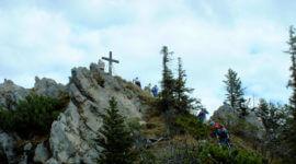 Am Gipfel des Almkogels