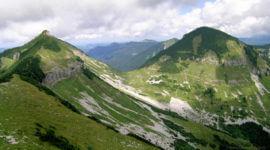 Blick zu Gruberhorn und Gennerhorn