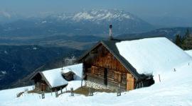 Eibleckalm im Winter