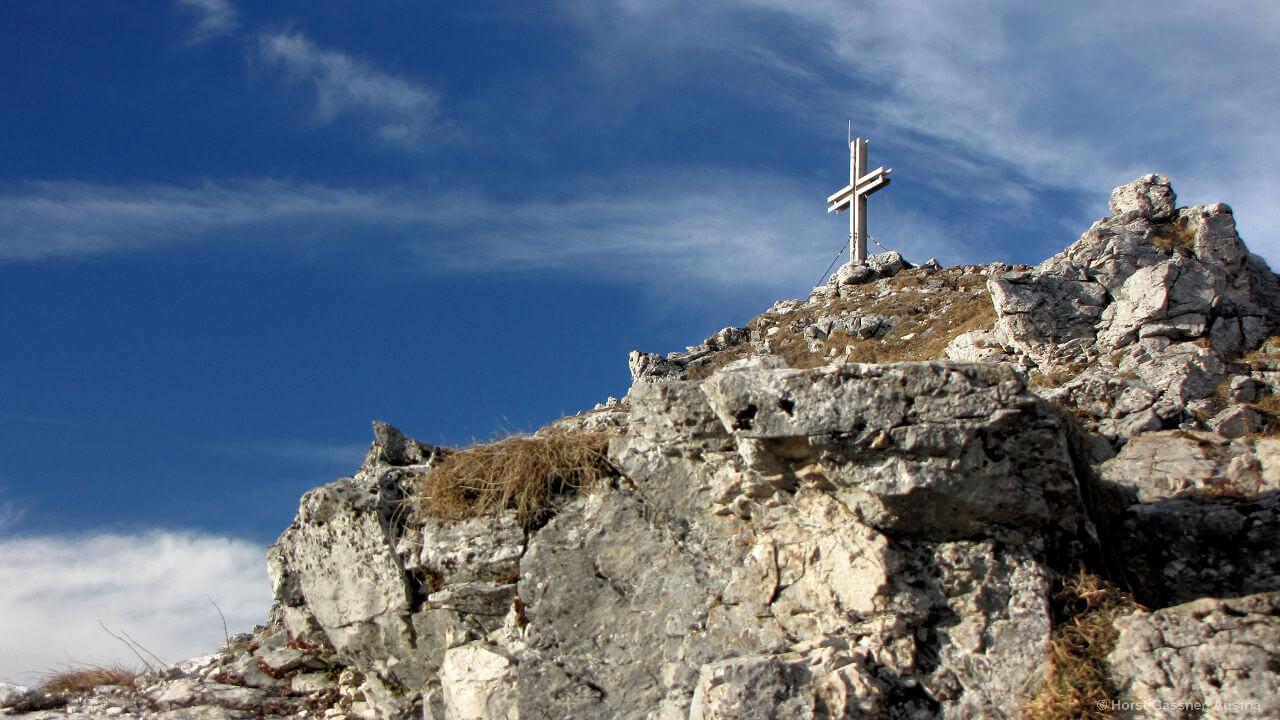Gipfelkreuz des Frauenkopfes