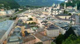 Blick über die Mozartstadt Salzburg