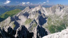 Ausblick vom Gipfel des Hochstadel