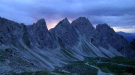 Panorama an der Karlsbaderhütte