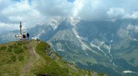 Schneeberg, Blick zum Gipfel