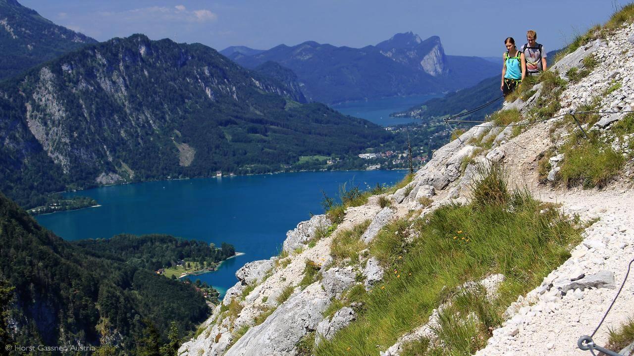 Schoberstein kurz vor dem Gipfel