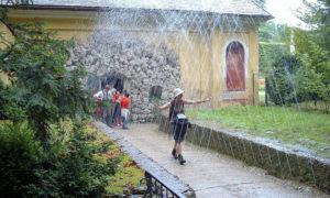 Wasserspiele Hellbrunn und der Tiergarten