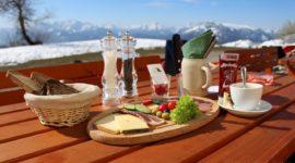 Frühstück mit Ausblick - Kohlmayr's Gaisbergspitz