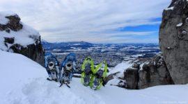 Blick nach Salzburg