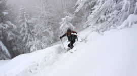 Viel Neuschnee gab es Silvester 2014