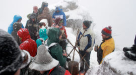 Silvester 2014 am Gipfel