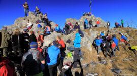 Silvester 2016 am Gipfel