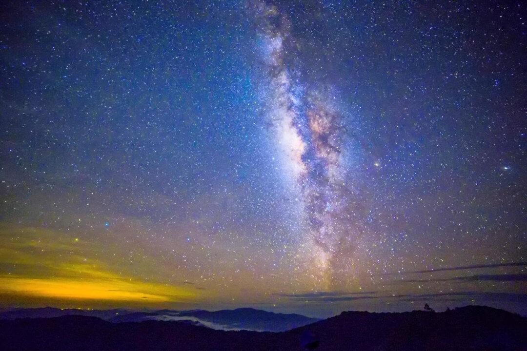 Milchstraße Erde