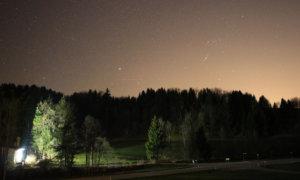 Milchstraße fotografieren – Erste Testbilder und Erkenntnisse