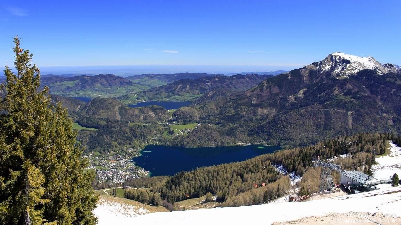 Zwölferhorn bei St. Gilgen