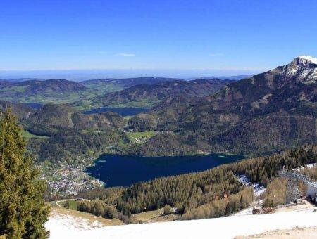 Zwölferhorn bei St. Gilgen (1522 m)