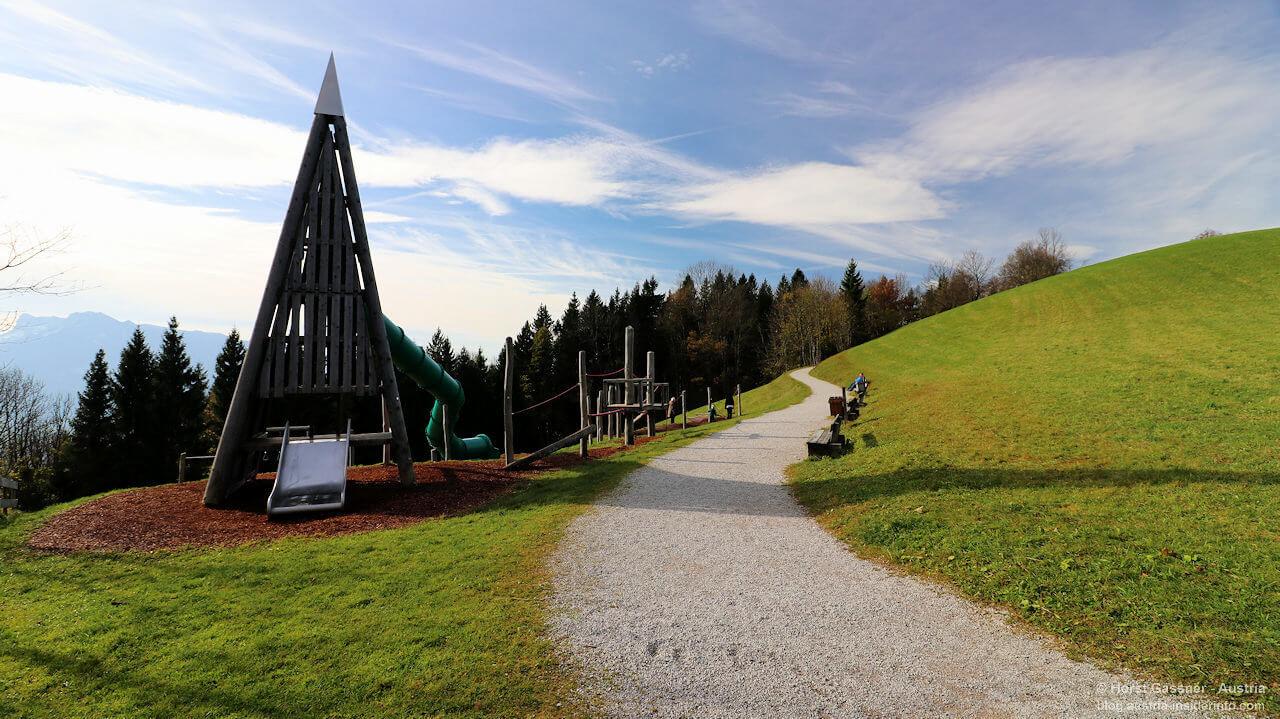 Spielplatz am Gaisberg Rundwanderweg