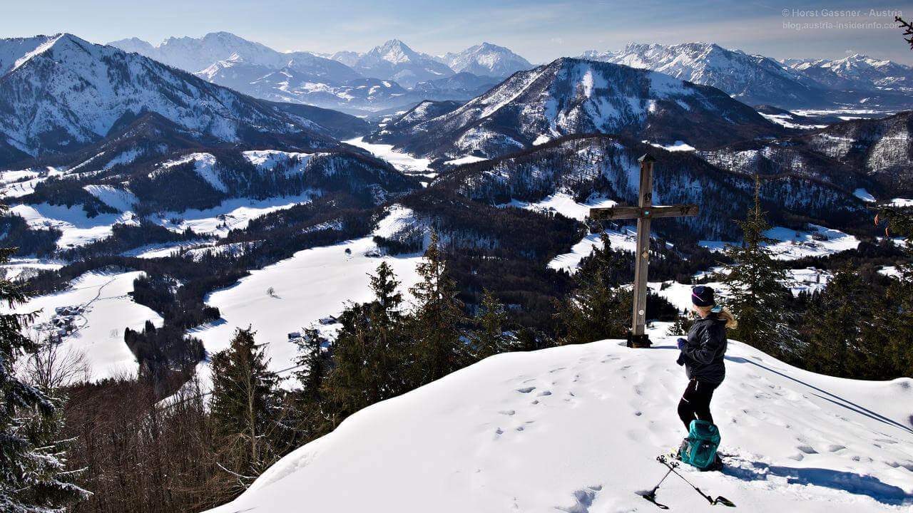 Lidaunberg am Gipfel