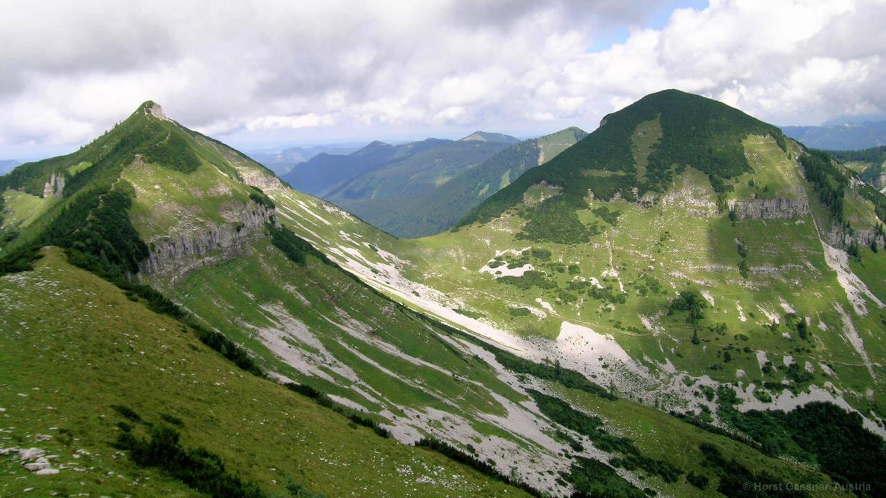 Dürlstein, Blick zu Gruberhorn und Gennerhorn