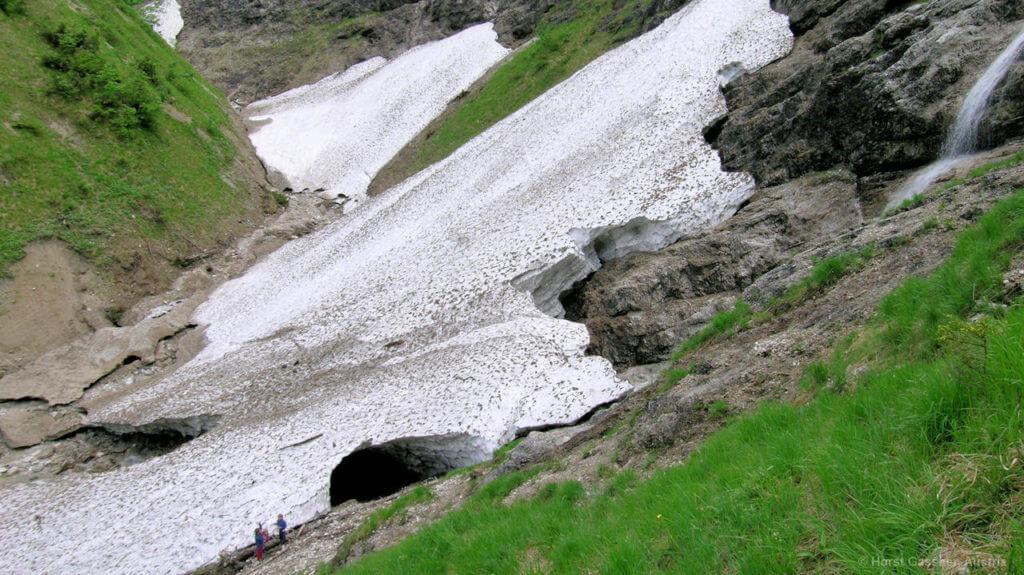 Eiskapelle Ende Juni 2002