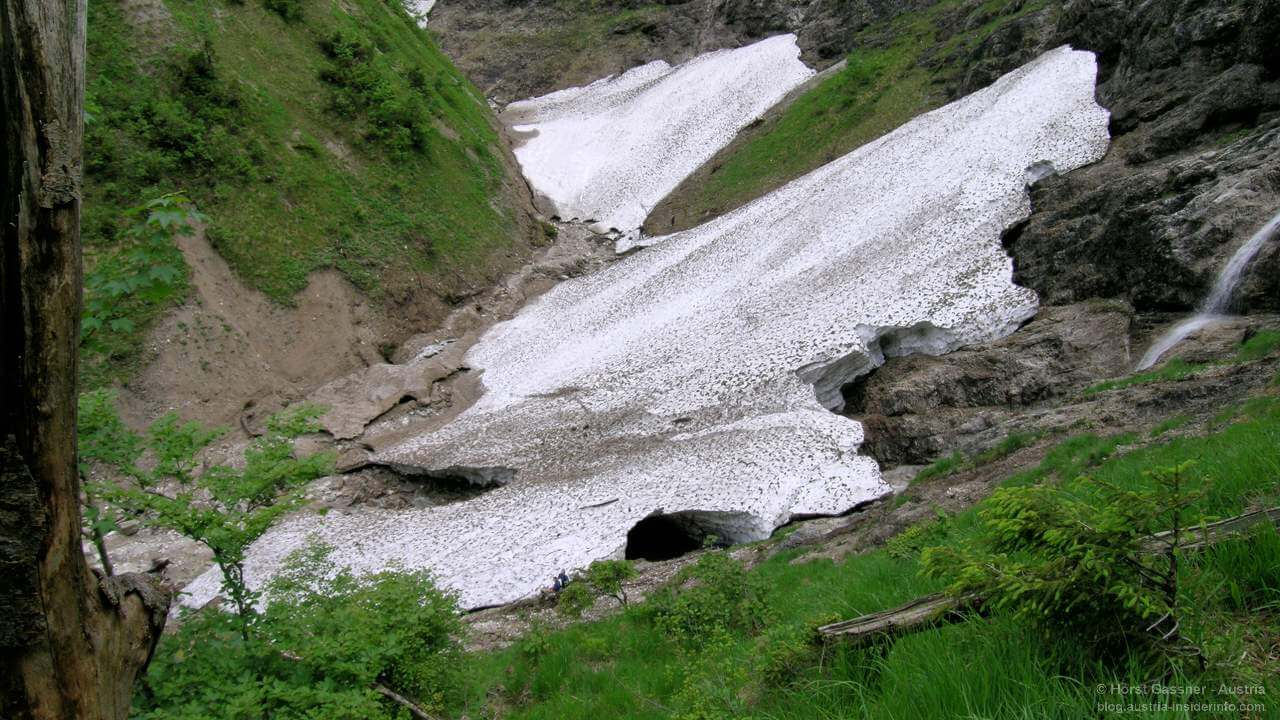 Eiskapelle am Hintersee