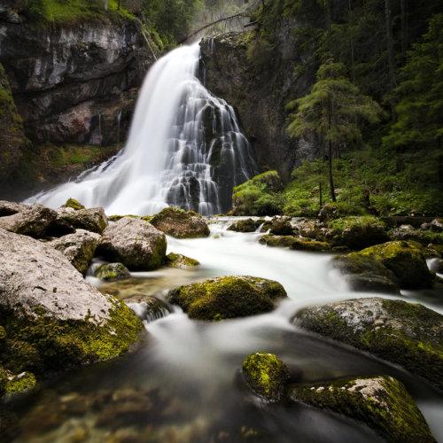 Gollinger Wasserfall im Salzburger Land