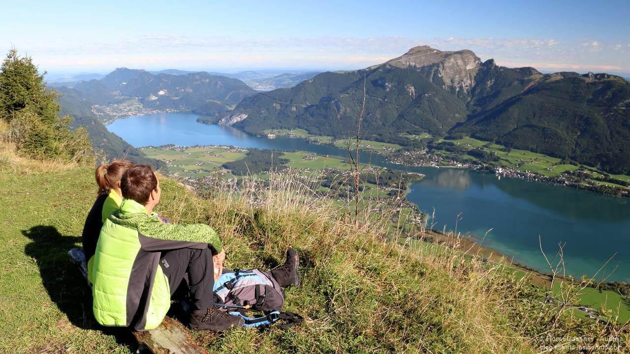 Bleckwand in der Nähe des Gipfels