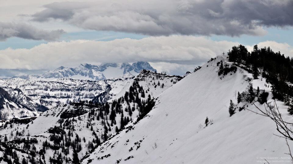 Ochsenberg am Gipfel - Blick zum Eibleck