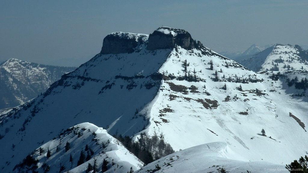 Blick zum Schmittenstein vom Gipfel des Schlenken
