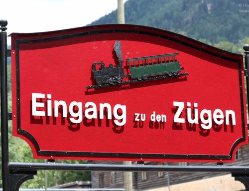 Mit der Schafbergbahn auf den Schafberg