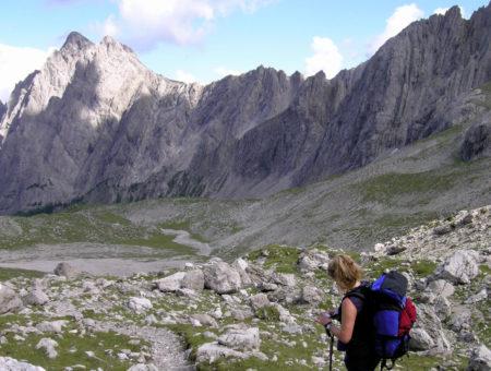 Dreitörlweg und Hochstadel, Lienzer Dolomiten