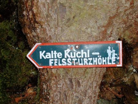 Steinklüfte in St. Gilgen am Wolfgangsee