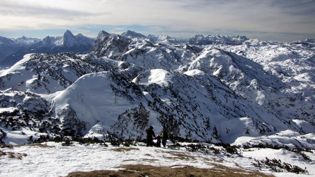Atemberaubender Ausblick im Winter