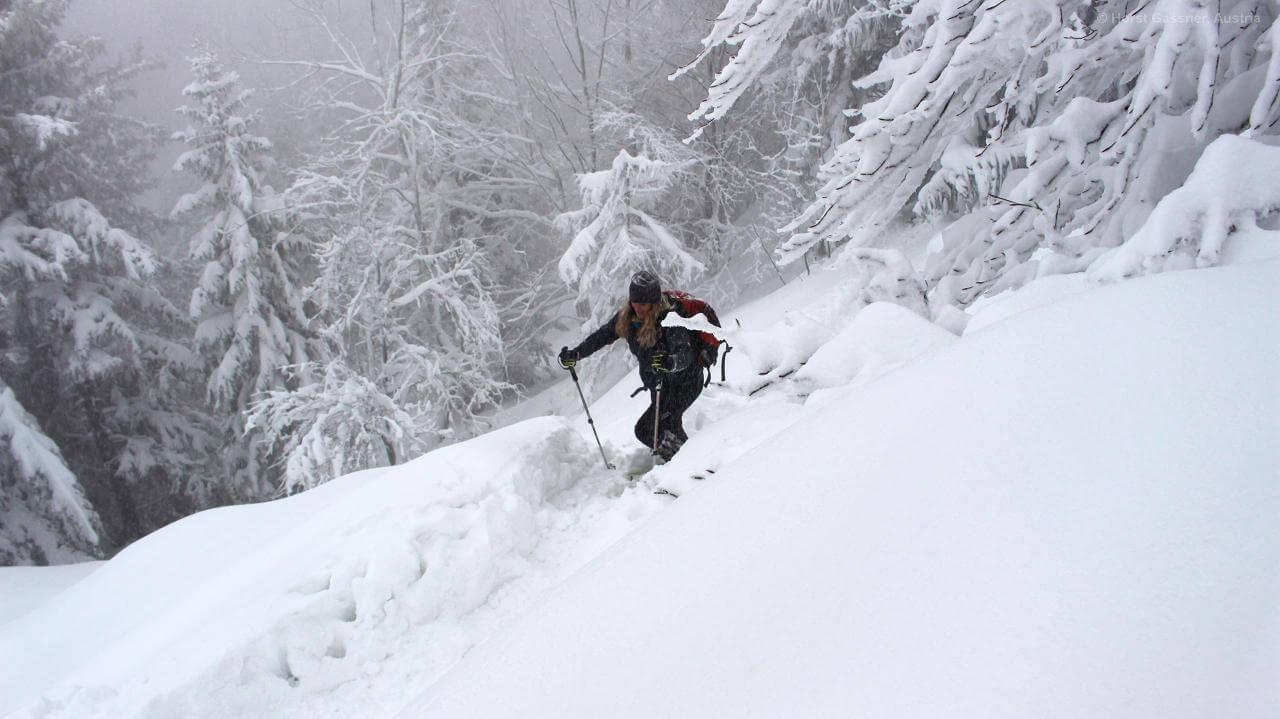 Viel Neuschnee gab es Silvester 2013
