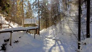 Edermühle im Winter