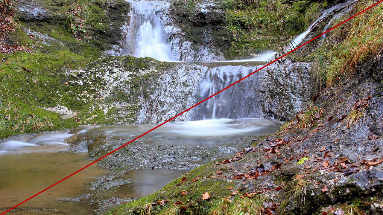 Diagonale im Bild