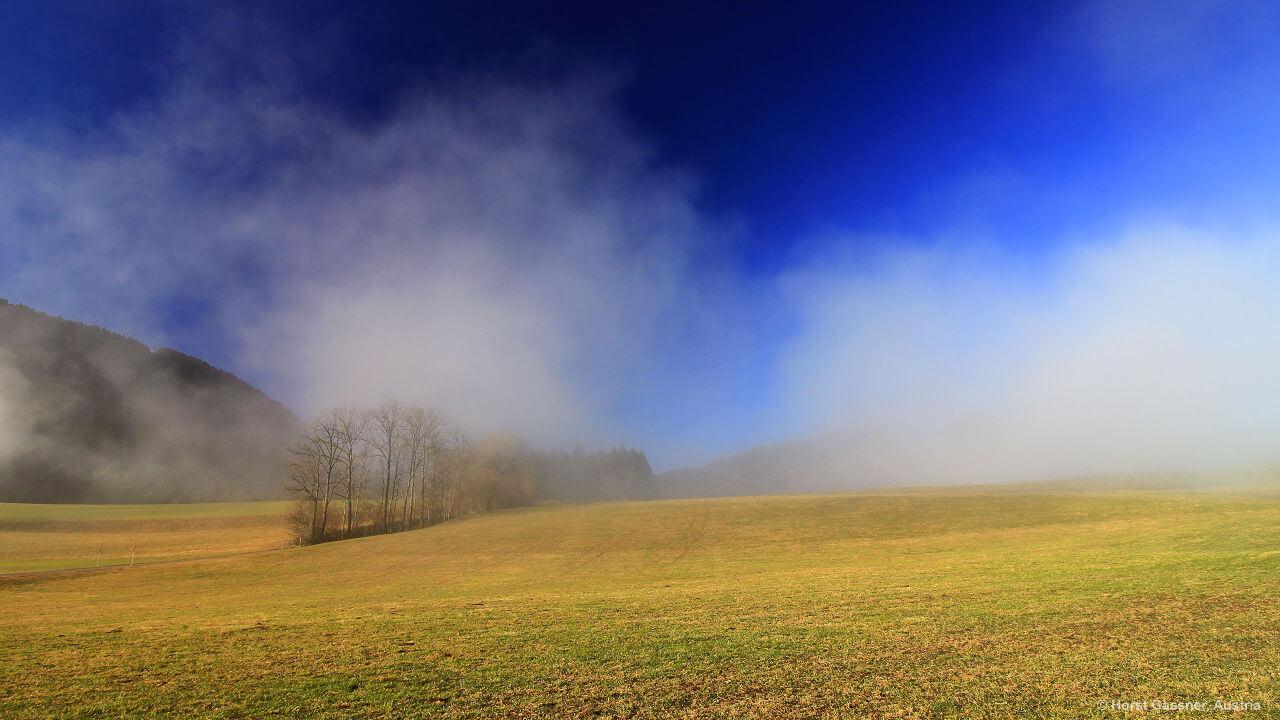 Der Nebel reißt auf
