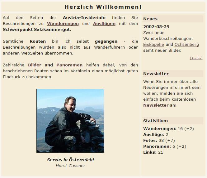 Austria Insiderinfo 2002