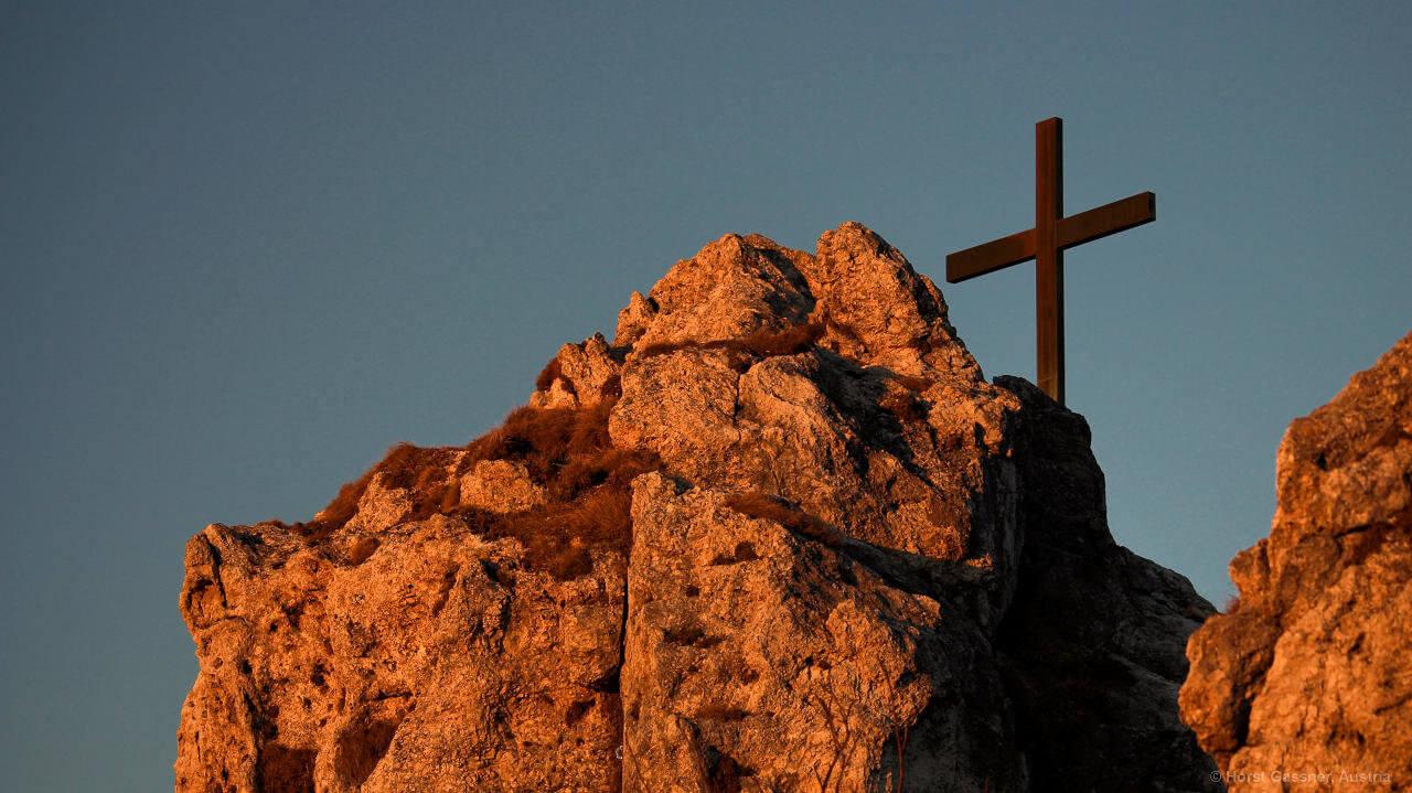 Der Nockstein - Gipfel im Abendlicht