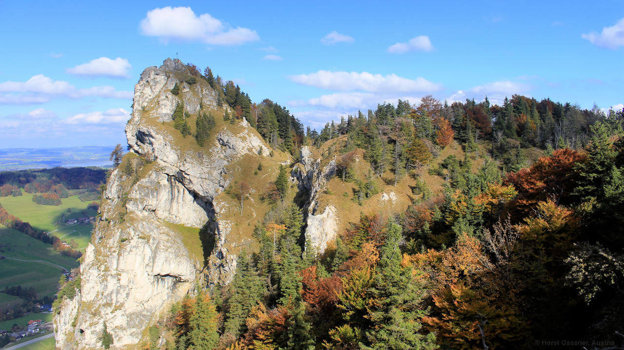 Der Nockstein - Herbstbeginn