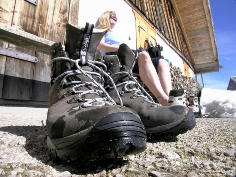 7 Fehler beim Wandern - das richtige Schuhwerk