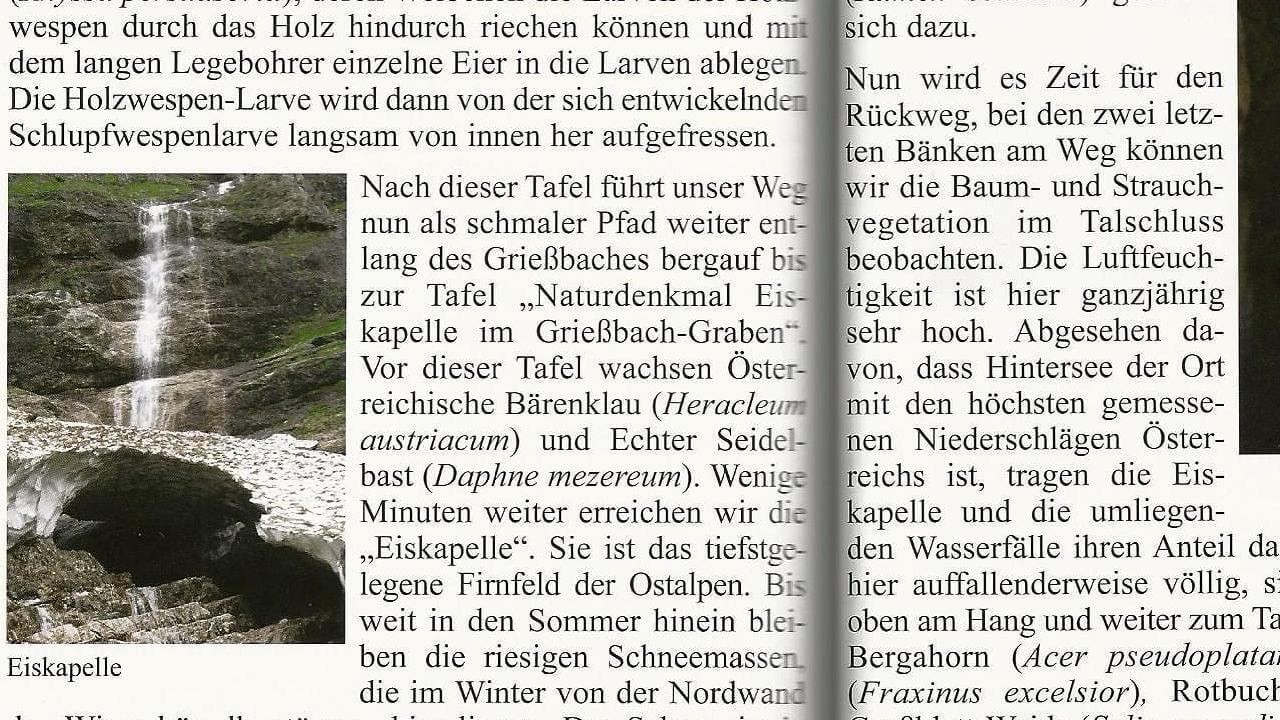 Natur- Wanderführer Salzkammergut