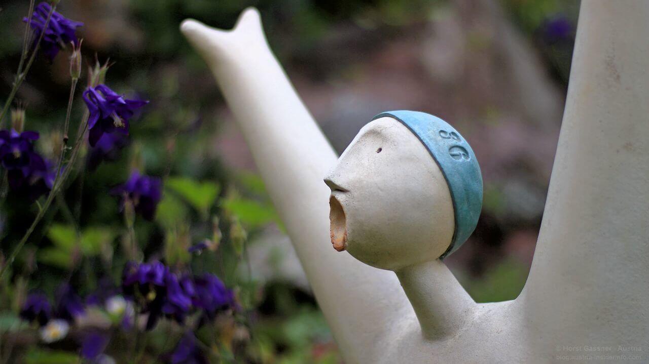 Figur im Heller Garden, Gardone