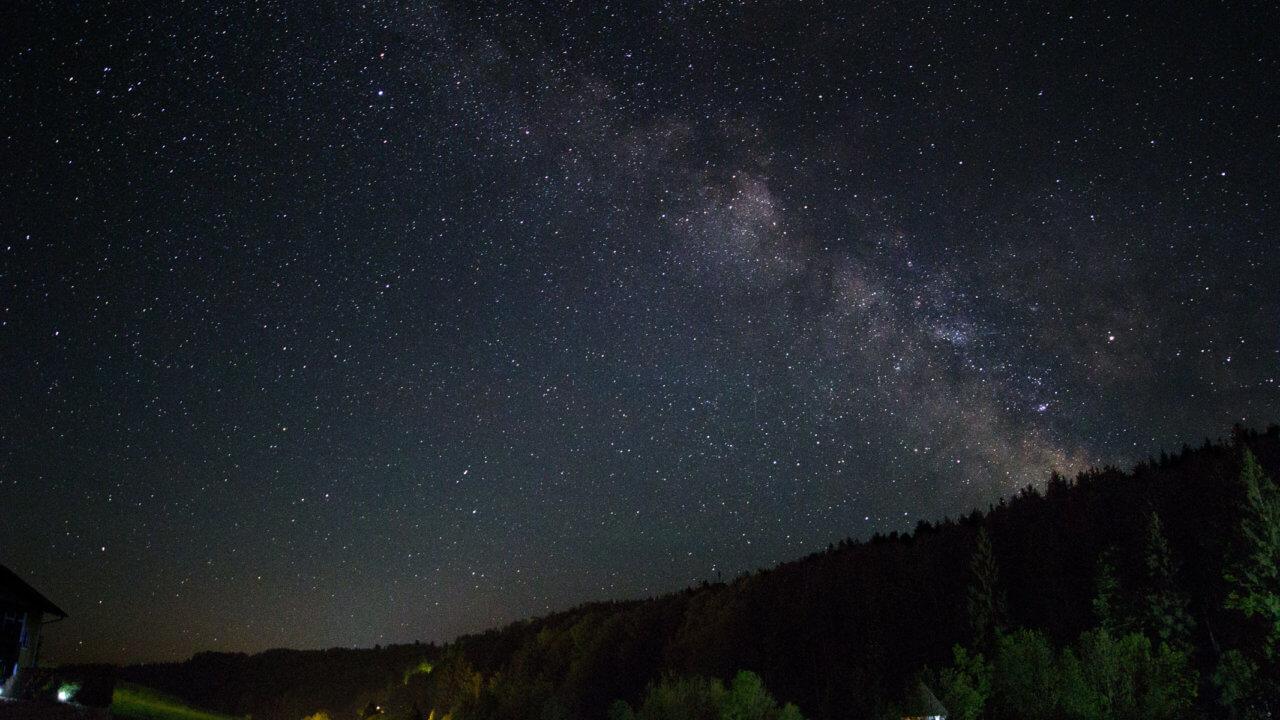 Milchstraße fotografieren - Nachbearbeitung von Max Paul