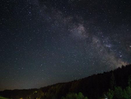 Milchstraße fotografieren – Nachbearbeitung der Bilder