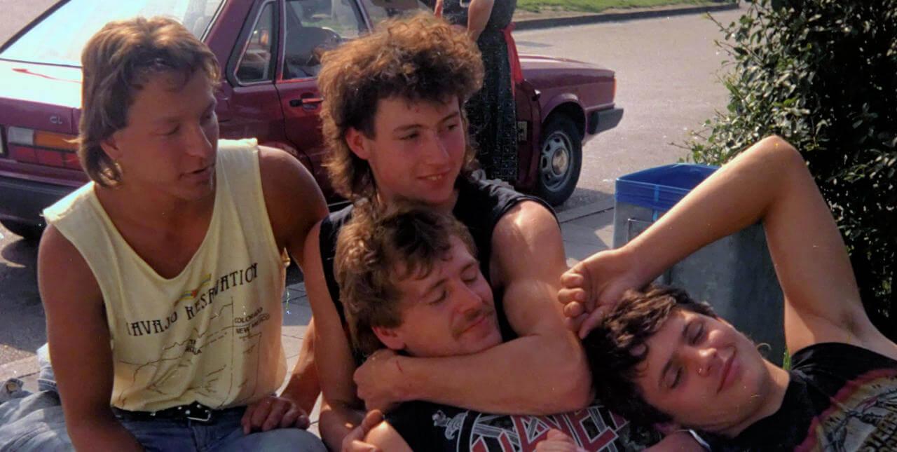 Horst mit Freunden um 1985