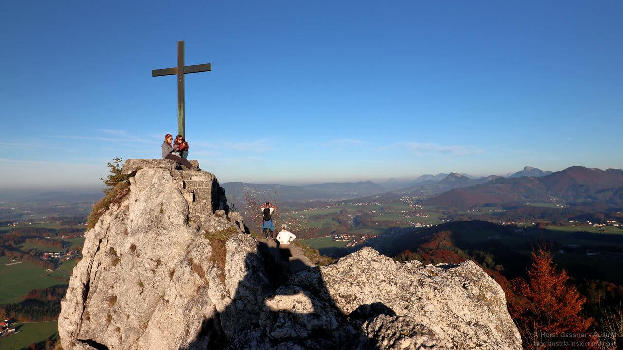Nockstein am Gipfel