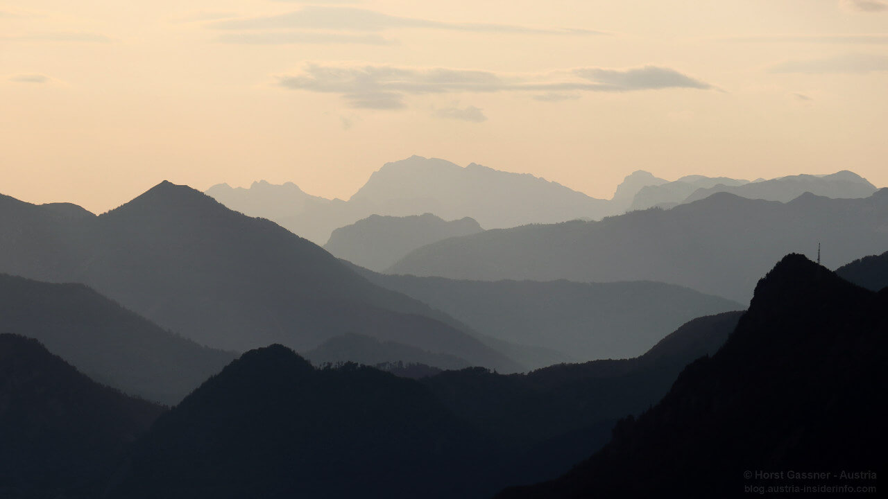 Drachenwand: am frühen Morgen