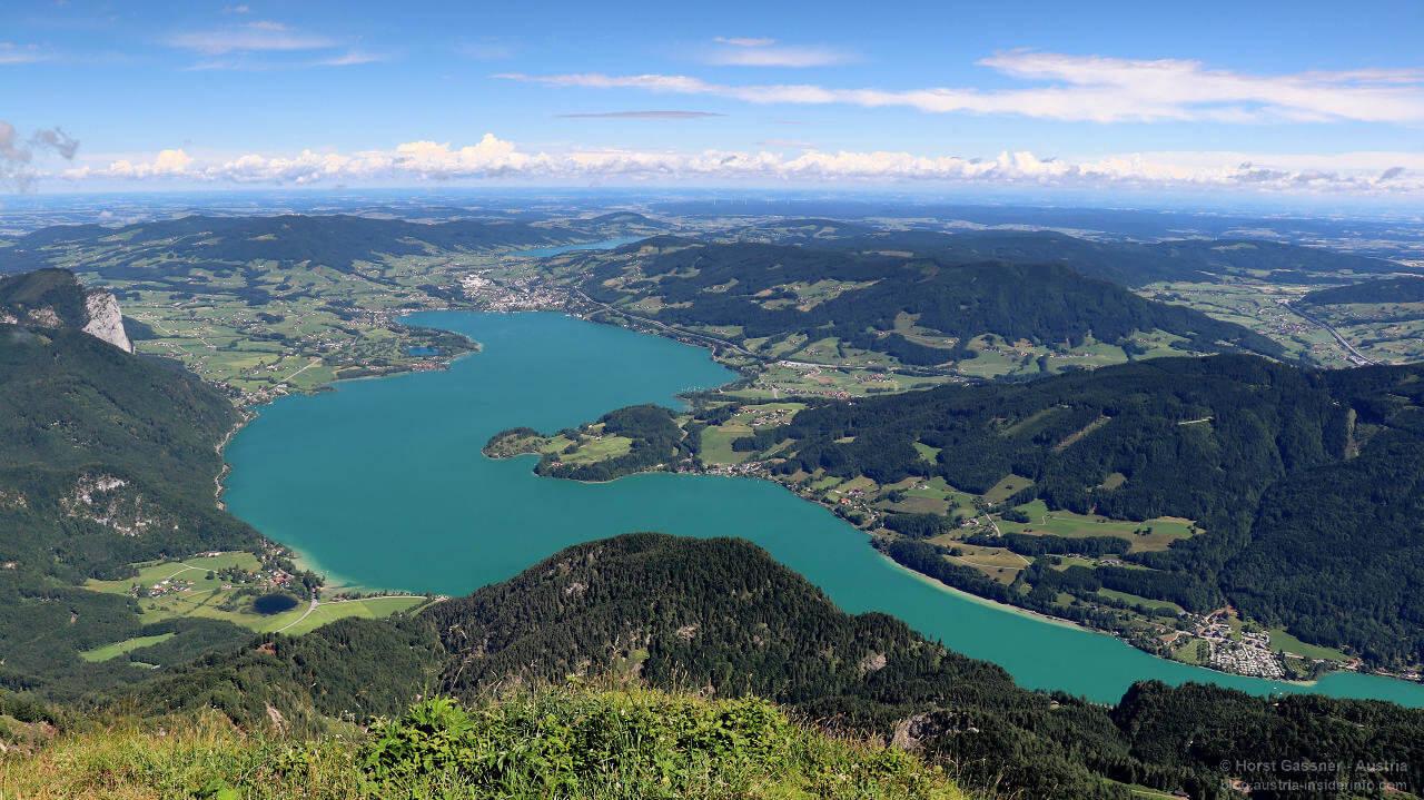 Lieblingsberge im Salzburger Land - Schafberg mit Blick über den Mondsee