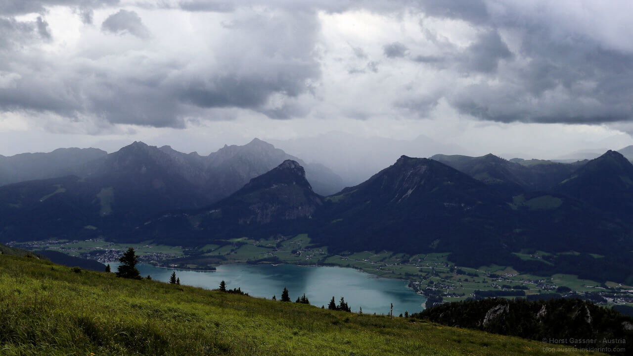 Schafberg: Schlechtwetter im Anmarsch