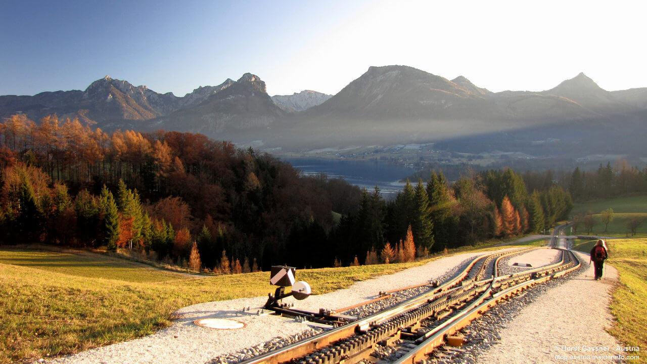 An der Schafbergbahn